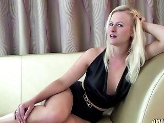 Amateur, Blonde, Dirty Talk, German, HD, Joi,