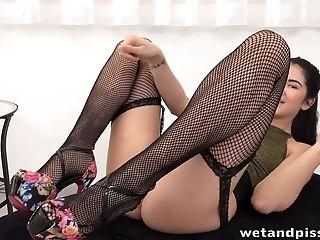 красотка, милые, Horny, дрочущий, мастурбация, мочеиспускание, секс игрушки, Slut, соло, молодые,