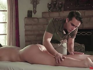 Angela White, Ball Licking, Bareback, Big Natural Tits, Big Tits, Blowjob, Bold, Brunette, Couple, Cowgirl,