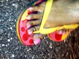 Cute, Feet, HD, Lingerie, Nature, Outdoor, Pretty,