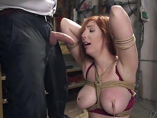 BDSM, Bondage, Dick, Extreme, Fetish, Force, Gorgeous, Redhead, Submissive,