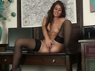 Amateur, Ass, Beauty, Big Tits, Clit, HD, Jess West, Long Hair, Masturbation, MILF,