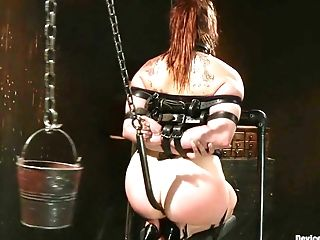 BDSM, Bella Rossi, Cage, Cunt,