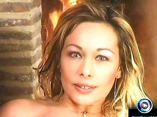 Antonella Del Lago, Big Tits, Blonde, Masturbation, Sex Toys,