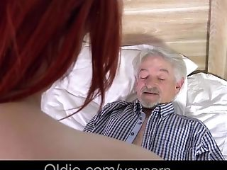 Cunnilingus, Cute, Dirty, Ginger, Grandpa, Horny, Old, Old And Young, Teen,