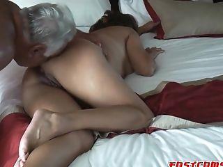 Anal Sex, Ass Licking, Clamp, Couple, Doggystyle, Hardcore, Latina, Licking, MILF, Sexy,