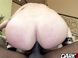 Anal Sex, Big Black Cock, Hardcore, Interracial, Leenuh Rae, Pawg, Submissive,