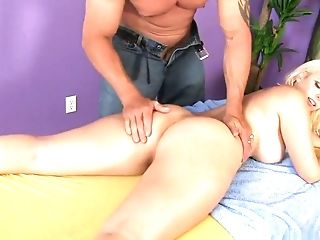 Big Ass, Big Tits, Blonde, Facial, Lee Stone, Mandy Sweet, Pornstar,