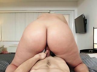 Bedroom, Big Ass, Big Tits, Blowjob, Brunette, Cum In Mouth, Cumshot, Dick, Doggystyle, Fat,