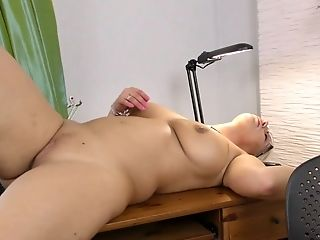 Amateur, Amazing, Ass, Big Tits, Blonde, Curvy, HD, Jerking, Luba Love, Masturbation,