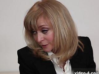 Big Tits, Cunnilingus, Horny, Jessie Andrews, Lesbian, MILF, Nina Hartley, Pornstar, Stockings,