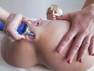 Blonde, Butt Plug, Clamp, Close Up, Fingering, Masturbation, MILF, Model, Pussy, Sex Toys,