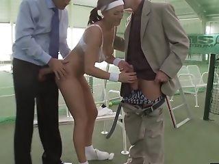 Anal Sex, Big Tits, Blowjob, Bra, Coach, Cum In Mouth, Cumshot, Double Penetration, Handjob, Hardcore,
