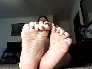 Feet, Solo, Teasing, Toes,
