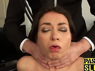 Anal Sex, Ass Fucking, BDSM, Breath Play, Brunette, Cum In Mouth, Cum Swallowing, Face Fucking, Feet, Game,
