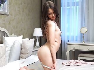 Babe, Beauty, Boobless, Close Up, Cute, HD, Jerking, Pussy, Sex Toys, Solo,