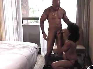 Anal Sex, Big Cock, Black, Blowjob, Couple, Cute, Shemale, Young,