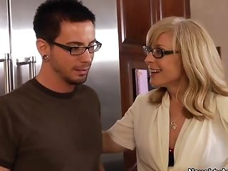Blonde, Blowjob, Friend, Hardcore, HD, Mature, MILF, Nina Hartley, Old And Young, Skinny,