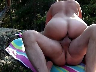 Amateur, Big Ass, Blonde, Forest, HD, Public, Swedish,