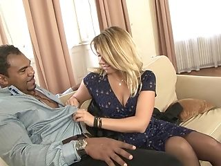 Big Black Cock, Blowjob, Couple, Cuckold, Hardcore, Husband, Interracial, Jerking, Riding, Wife,