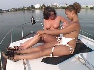Amateur, Ass, Bikini, Boat, Cute, Fingering, Interracial, Lesbian, Natural Tits, Naughty,