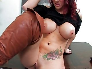 Ass, Big Tits, Brunette, Jayden Jaymes, Masturbation, Naughty, Office, Pornstar, Pussy, Solo,