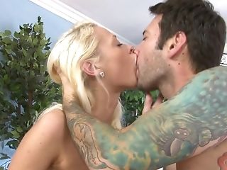 Babe, Blonde, Blowjob, Cumshot, Facial, Hardcore, Natural Tits, Petite, Piercing, Pussy,