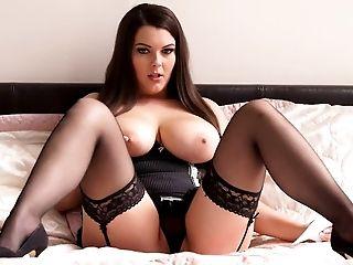 Beauty, Big Natural Tits, Big Tits, Brunette, Cute, Horny, Lingerie, Mistress, Shy, Slut,